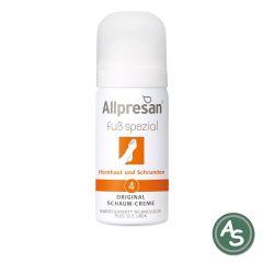 Allpresan Fuss-Schaum-Creme Hornhaut & Schrunden (Nr 4) - 50 ml
