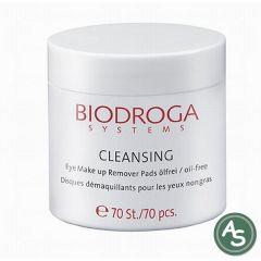 Biodroga Cleansing Eye Make up Remover Pads - 70St.