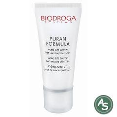 Biodroga Puran Formula Acno-Lift Creme für unreine Haut 25+ - 40 ml