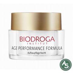 Biodroga Age Perfomance Formula Aufbaupflege Nacht für reife Haut - 50 ml