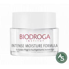 Biodroga Intense Moisture Formula 24-Stunden Pflege trocken - 50 ml