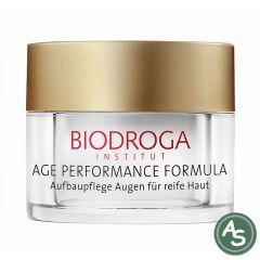 Biodroga Age Perfomance Formula Aufbaupflege Augen und Lippen für reife Haut - 15 ml