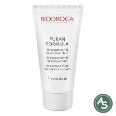 Biodroga Puran Formula BB-Creme LSF15, 01 sand touch - 40 ml
