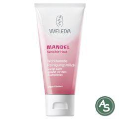 Weleda MANDEL sensitiv Reinigungsmilch - 75 ml