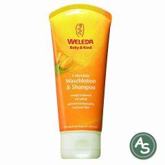 Weleda Calendula-Waschlotion & Shampoo - 200 ml