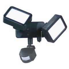 8W Kaltweiß 2x LED Fluter Außen Sicherheit Strahler Scheinwerfer Flutlicht 240V