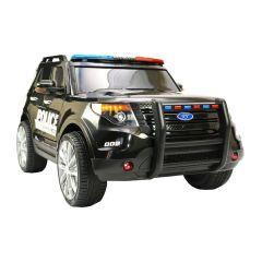 "Kinderfahrzeug - Elektro Auto ""US Police SUV"" - 12V7AH Akku,2 Motoren- 2,4Ghz Fernsteuerung, MP3+Sir"