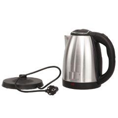 Neue Wasserkocher Edelstahl 1,8 Liter Teekocher 360° Sockel 1500 W Neuware OVP