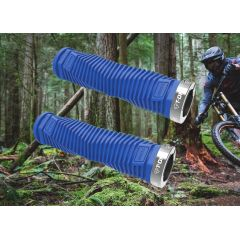 Fahrrad-Griffe T-One Blue Diamond Schraubgriffe Fahrradgriffe
