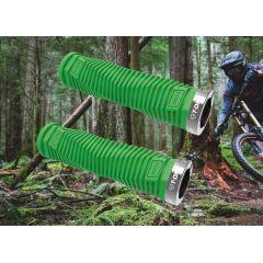 Fahrrad-Griffe T-One Grip Green Diamond Schraubgriffe Fahrradgriffe Grün