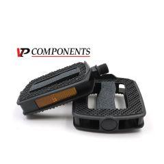 City Comfort-Pedal mit Griptape-Oberfläche und integrierten Reflektor