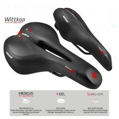 Wittkop Herren-Sattel Medicus Pro 6.1270 Gel Trekking / MTB