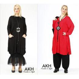 Lagenlook Tunika-Kleid ausgefallen