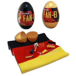 Deutschland Fanartikel Ei mit Fanartikeln - Das ultimative Fan-Ei