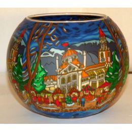 Kerzenfarm Leuchtglas XL Meran, Größe 15 cm, Teelicht