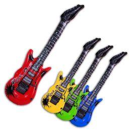 Aufblasbare Gitarre - Rockn Roll - ca. 100 cm - 6 Farben