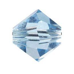 Swarowski Doppelkegel, iceblau