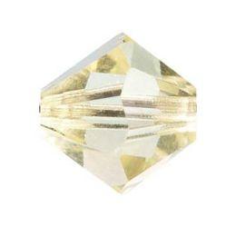 Swarowski Doppelkegel jonquil zartgelb