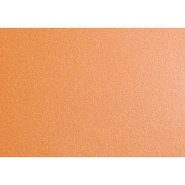 Briefkuvert DIN lang, metallic, orange
