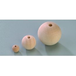 Rohholzkugeln verschiedene Größen ab 3mm