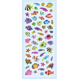 GLOSSY-Stickers Fische II