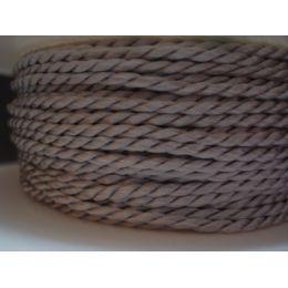 Acetat-Kordel  2mm silber