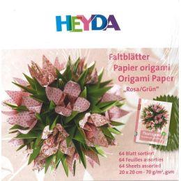 Faltblatt, Origami, Kusudama 10 x 10 cm