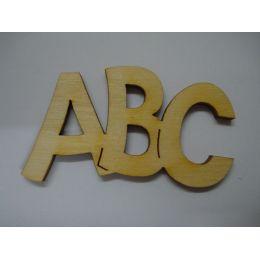 Holz Schriftzug ABC