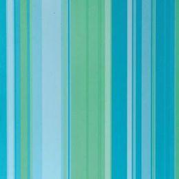 Dekoratives Papier blau-grün gestreift 30,5X30,5 cm