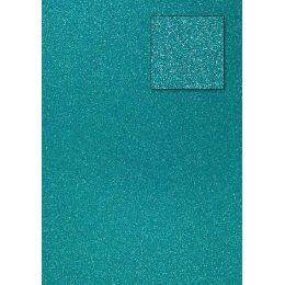 Glitterkarton, preußischblau