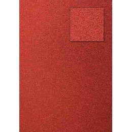 Glitterkarton, rot