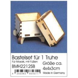 Bastelset Truhe 4x4x3 cm