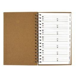 Adressbuch, 80 g/m2, 12,5x9,3 cm