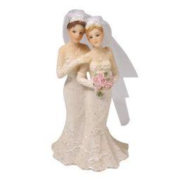 Polyresin-Hochzeitspaar Frauen, 10,5 cm