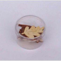 Holz Eichenblatt ca. 8 Stück