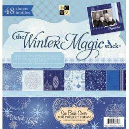 Paper stack Winter magic 2011 30,5X30,5 cm 48 Bogen