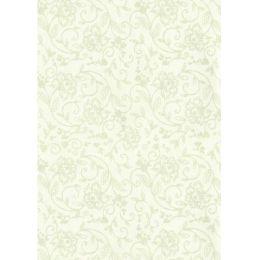 A4 Blumen Stickerei-Stil