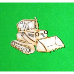 Holz Raupenfahrzeug 60mm - 200mm