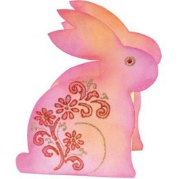 Verpackungs-Schablone Hase ca. 18 x 16 x 7cm