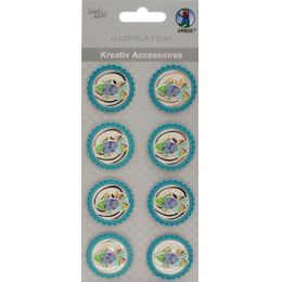 3 D Sticker  Fisch Motiv: 282