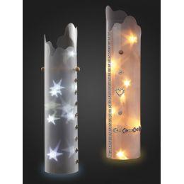 Sternentraum-Lampenfolie, welle, 1 teilig, komplett, ohne Lichterkette