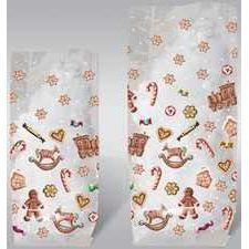 Plätzchenbeutel, Geschenktüte Süße Weihnachten Lebkuchenmann