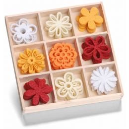 Filzbox Ornament Blume Fantasie