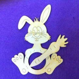 Schalhalter Hase 11 cm und 16 cm