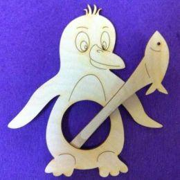 Schalhalter Pinguin 14 cm und 10 cm