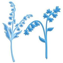 Spellbinders Die D-Lites S3-207 Blue Bells & Lilly of the Valley -NEUHEIT-