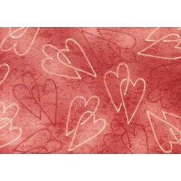 Hintergrundpapier Herzen, 90 g, DIN A4
