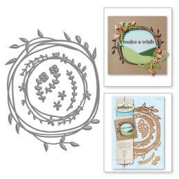 Spellbinder Shapeabilities S4-572 Wreath