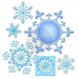 Spellbinder Shapeabilities S5-185 Shapeabilities - 2013 Snowflake Pendant