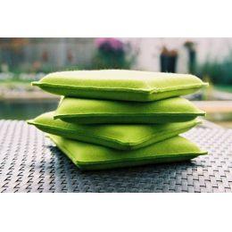 Sitzkissen aus Filz, Größe 30 x 30 cm oder 35 x 35 cm